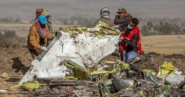 Ethiopian Airlines flight crash