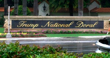 This June 2, 2017 file frame from video shows the Trump National Doral in Doral, Fla.