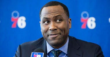 Philadelphia 76ers general manager Elton Brand