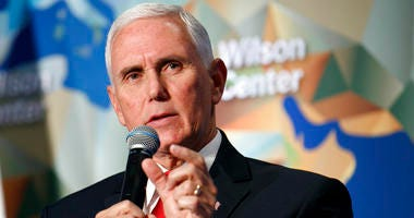 Vice President Mike Pence discusses U.S. and China relations.