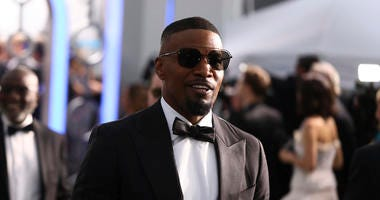 Jamie Foxx arrives at the 26th annual Screen Actors Guild Awards at the Shrine Auditorium & Expo Hall on Sunday, Jan. 19, 2020, in Los Angeles.