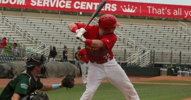 SJU product Brian O'Keefe is batting .251 with three home runs this season for the High-A Palm Beach Cardinals.