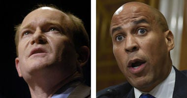 Sens. Chris Coons, D-Del., and Cory Booker, D-N.J.
