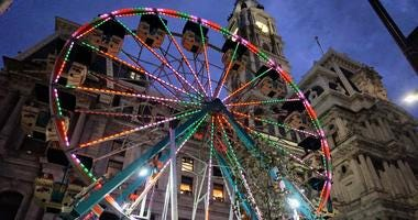 Ferris Wheel at the Christmas Village