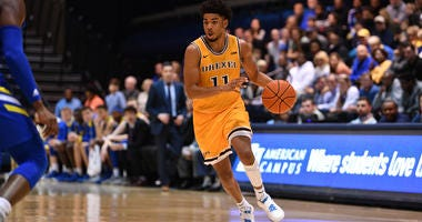 Drexel sophomore guard Cam Wynter