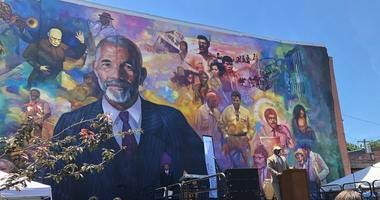 Ed Bradley Mural