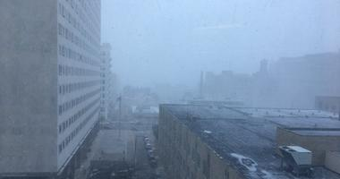 Snow squall warnings have been issued.