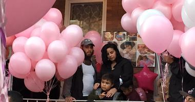 The family of 2-year-old Nicolette Rivera.