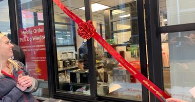 The opening of a new Wawa in Center City.