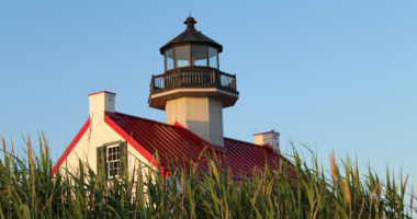 East Point Lighthouse.