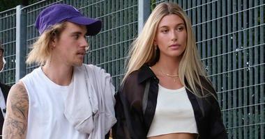 Justin Bieber with Hailey Baldwin