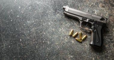 Photo of a gun.