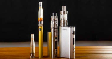 E-cigarettes and vaping products.