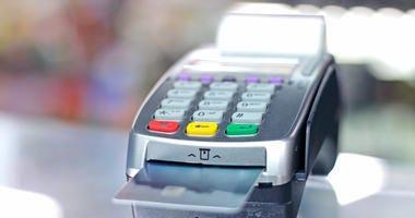 A credit card machine.