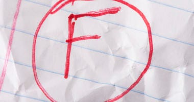 Bad grades.