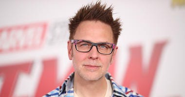 James Gunn attends the premiere of Disney And Marvel's 'Ant-Man And The Wasp.'