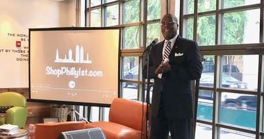 Broderick Byers, Executive Director of Shop Philly 1st.