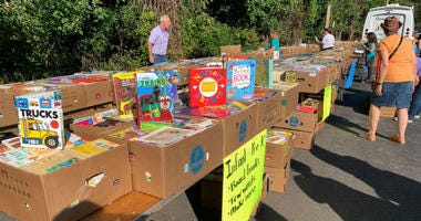 """Some South Jersey teachers have some free books to start the school year courtesy of the nonprofit called """"BookSmiles."""""""