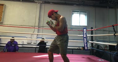 His first love is boxing, but playing classical piano is a close second for 23-year-old lightweight Jeremy Cuevas.
