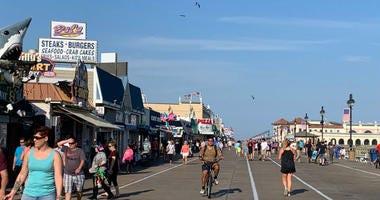 Ocean City Boardwalk.