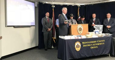 Montgomery County District Attorney Kevin Steele said the drug bust centered on five high-level dealers, including David Cooper.