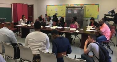 Camden City School District budget meeting