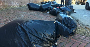 The Philadelphia Streets Department is putting surveillance cameras up on streets where trash is illegally dumped.