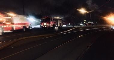 A fire broke out at a Gold Medal Environmental facility in SW Philadelphia