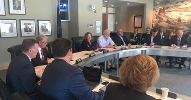 PA Turnpike Commission meets at headquarters on Thursday, March 11, 2019.