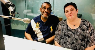 Carol McCloud and Abdul-Kareem Salahuddin.