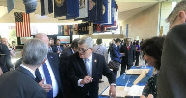 U.S. Census Bureau Director Steven Dillingham at the National Constitution Center.