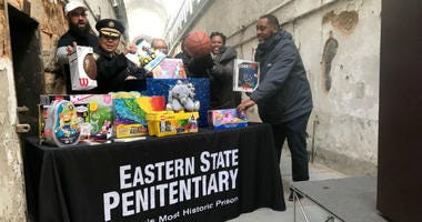 Eastern State Penitentiary is holding it's annual toy drive.