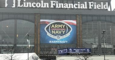 Lincoln Financial Field, the site of the 120th Army-Navy Game.