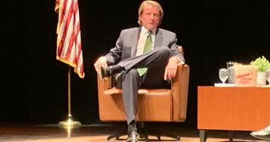 """Stockton University presented an invitation-only """"Conversation with Don McGhan"""" on Thursday."""