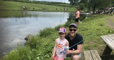 A father's day fishing excursion gives local dads a chance to bond with the ones they love.