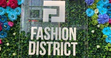 The Fashion District.