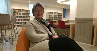 Siobhan Reardon, president and director of the Free Library of Philadelphia says National Library Week is an opportunity to explain to those who haven't been to the library in a while all that they have to offer