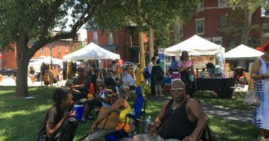 The 13th annual Lancaster Avenue Jazz and Arts Festival took place at Saunders Park in West Philadelphia.