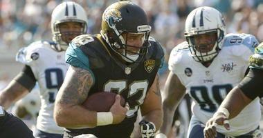 Jacksonville Jaguars center Brad Meester