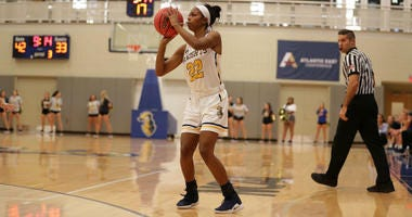 Neumann University senior Nafisa Saunders is the second-leading scorer in the country in Division III