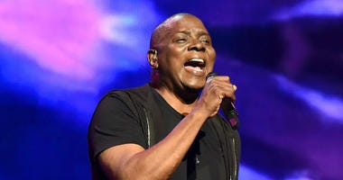 Philip Bailey of Earth Wind and Fire performs onstage during the 'Clive Davis: The Soundtrack of Our Lives' Premiere Concert during the 2017 Tribeca Film Festival at Radio City Music Hall on April 19, 2017 in New York City.