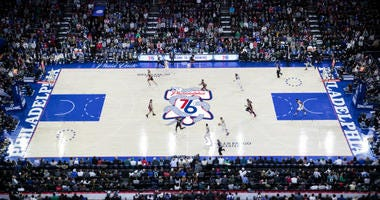 Sixers Playoff Logo