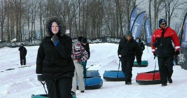 Tubing in the Poconos
