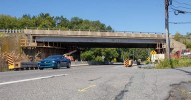Route 309 bridge.