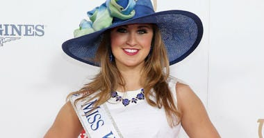 Miss Kentucky 2014 Ramsey Carpenter attends the 141st Kentucky Derby at Churchill Downs on May 2, 2015 in Louisville, Kentucky.