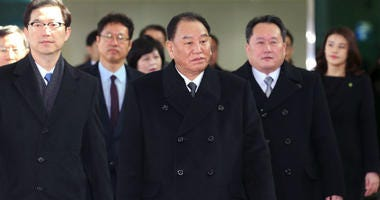 North Korea's lead negotiator in nuclear talks with the US, Kim Yong Chol, arrived in Washington Thursday, just hours after President Donald Trump rolled out a new missile defense strategy that appears to contradict his own claim that Pyongyang is no long