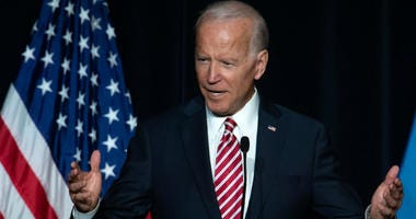 """Former Vice President Joe Biden released a video on Twitter Wednesday and said he will be """"more mindful about respecting personal space in the future."""""""