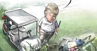 Canadian cartoonist loses job after illustration of Trump went viral