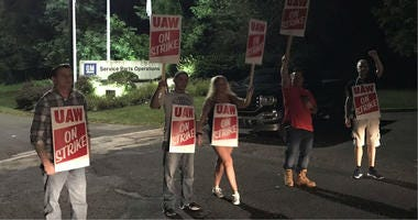 Nearly 50,000 UAW members who work in GM facilities across the country, including here in Langhorne, are now on strike.