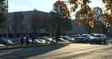 Upper Darby High School was on lockdown Thursday morning after reports that a student brought gun to school. It was a plastic gun.